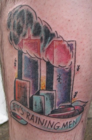 Bad 911 tattoo