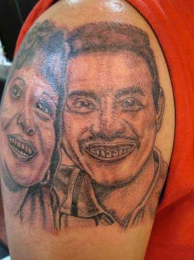 Bad Parents Tattoo