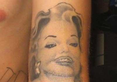 Bad Pinup Babe Tattoo