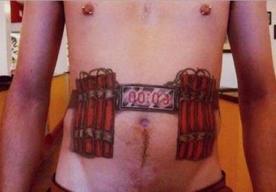 Suicide Bomber Tattoo